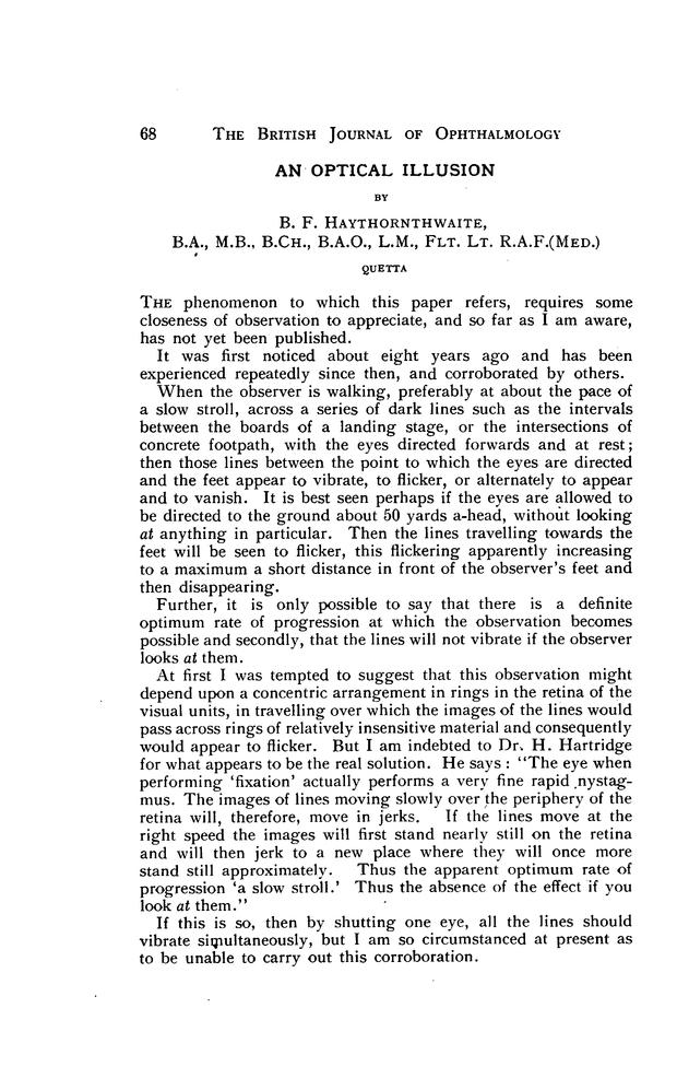 AN OPTICAL ILLUSION | British Journal of Ophthalmology