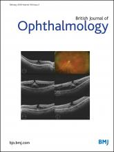 British Journal of Ophthalmology: 100 (2)