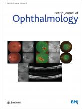 British Journal of Ophthalmology: 100 (3)