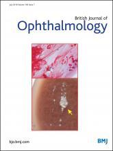 British Journal of Ophthalmology: 100 (7)