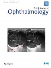 British Journal of Ophthalmology: 101 (11)