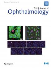 British Journal of Ophthalmology: 101 (12)