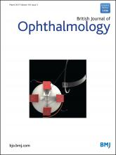 British Journal of Ophthalmology: 101 (3)