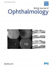 British Journal of Ophthalmology: 101 (7)