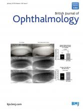British Journal of Ophthalmology: 102 (1)