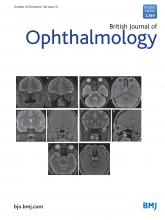 British Journal of Ophthalmology: 102 (10)