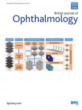 British Journal of Ophthalmology: 102 (11)