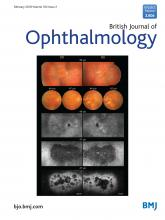 British Journal of Ophthalmology: 102 (2)