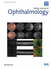 British Journal of Ophthalmology: 102 (4)