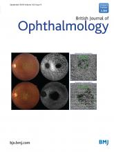British Journal of Ophthalmology: 102 (9)