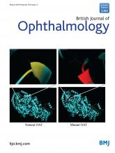 British Journal of Ophthalmology: 103 (3)