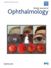 British Journal of Ophthalmology: 103 (9)