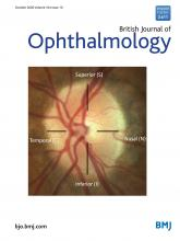 British Journal of Ophthalmology: 104 (10)