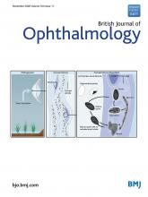 British Journal of Ophthalmology: 104 (11)