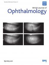 British Journal of Ophthalmology: 104 (12)