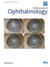 British Journal of Ophthalmology: 104 (9)