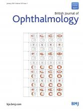 British Journal of Ophthalmology: 105 (1)