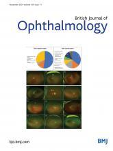 British Journal of Ophthalmology: 105 (11)