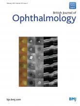 British Journal of Ophthalmology: 105 (2)