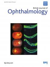 British Journal of Ophthalmology: 105 (4)