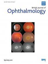 British Journal of Ophthalmology: 105 (6)