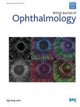 British Journal of Ophthalmology: 105 (7)