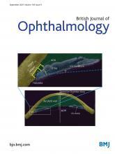 British Journal of Ophthalmology: 105 (9)