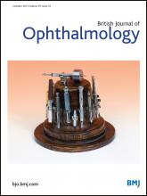 British Journal of Ophthalmology: 97 (10)