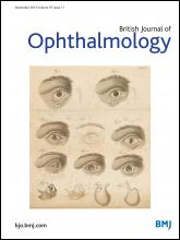 British Journal of Ophthalmology: 97 (11)
