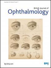 British Journal of Ophthalmology: 97 (11)