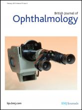 British Journal of Ophthalmology: 97 (2)