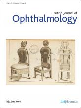 British Journal of Ophthalmology: 97 (3)