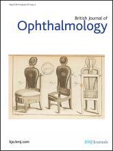 British Journal of Ophthalmology: 97 (3)