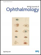 British Journal of Ophthalmology: 97 (5)