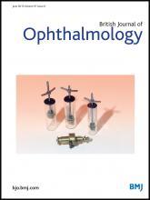 British Journal of Ophthalmology: 97 (6)