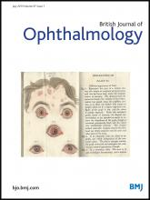 British Journal of Ophthalmology: 97 (7)