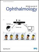 British Journal of Ophthalmology: 98 (11)