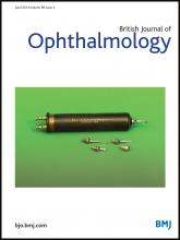 British Journal of Ophthalmology: 98 (4)