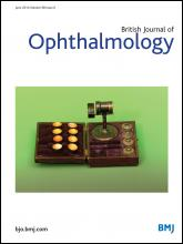 British Journal of Ophthalmology: 98 (6)