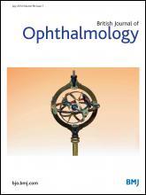 British Journal of Ophthalmology: 98 (7)