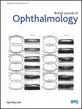 British Journal of Ophthalmology: 98 (9)