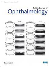 British Journal of Ophthalmology: 98 (9)