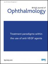 British Journal of Ophthalmology: 98 (Suppl 1)