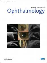 British Journal of Ophthalmology: 99 (1)