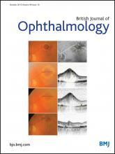 British Journal of Ophthalmology: 99 (10)