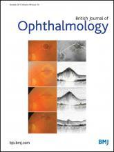 British Journal of Ophthalmology: 99 (10)