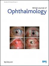 British Journal of Ophthalmology: 99 (12)
