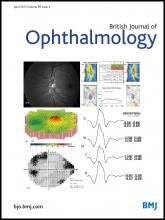British Journal of Ophthalmology: 99 (4)